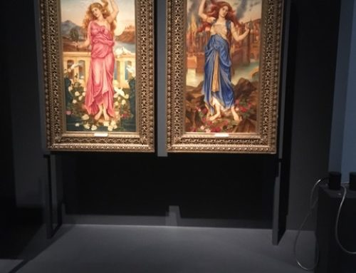 Community voices re-interpret paintings by Evelyn De Morgan in the British Museum's exhibition 'Troy: Myth and Reality'